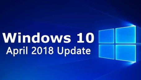 Cách khắc phục một số lỗi khi cập nhật Windows 10 April