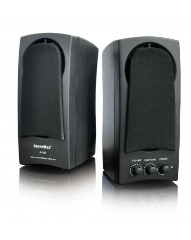 Loa vi tính Soundmax 2.0 A150 chính hãng
