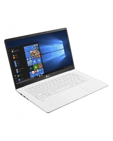 Laptop LG Gram 14ZD980-G.AX52A5 (i5-8250U/8GB/256Gb SSD/14FHD/VGA ON/Dos/White) Chính hãng